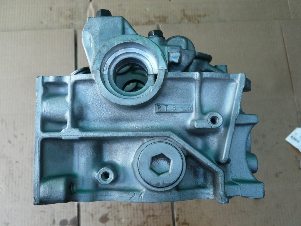 Honda cylinder head 2.2 liter 1990-1997 L4 SOHC Gas F22A1 ...